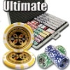 1000pc Ultimate professional Texas customized poker chip set