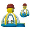 2010 New CE Wet inflatable castle