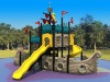 2011 Latest Big Outdoor Playground Equipment-Castle theme TX-07701