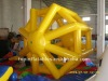 2011 inflatable barrel,inflatable water roller