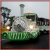 2011 the most popular Amusement Playground equipment electric  land/road/ battery  trackless train rides