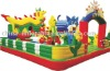 2011HOT giant Inflatable Fun City/amusement park