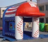 2012 Inflatable soccer speed pitch