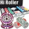 300pc Hi Roller professional Texas customized poker chip set