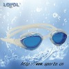 Adults' silicone swimming Goggle with Special Design and with quick adjust system