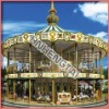 Amusement Park Equipment 116 kids and adults rides Seats Deluxe Double Carousel