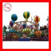 Attractive amusement park rides rotating Samba Balloon