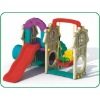 Crazy Fun plastic play house with slide For Children