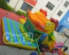 Duck inflatable slide
