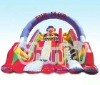 Fun slide inflatable jumping slide