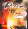 ITTF Approved Palio CJ8000 Light&Fast Type Pips-In Table Tennis Rubber with Sponge