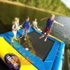 Inflatable water Cuboid trampoline