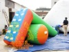 Inflatable water recreation facilities