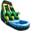 InflatableTropical Palm Inflatable Water Slide