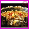 Manufacture! double decker outdoor playground carousel