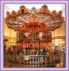Musical and LED carousel horse ride