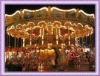 Musical and LED carousel horse ride with CE and ISO certificates