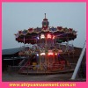 NEW!!! 28 seats outdoor playground double-deck carousel