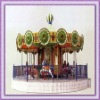 Newest!!! Interesting outdoor carousel horse ride/ musical carousel
