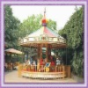 Newest!!! outdoor carousel horse ride/ musical carousel