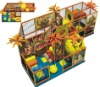 Plastic Indoor playground  equipment