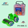 Pohung New & Hot Inline Skate Skating Shoes  Heel Skate Flashing Rollers