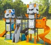 Popular Kids Commercial Playground For Outdoor Play With GS,CE Certification
