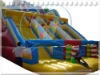 Qi Ling 2011long playground inflatable slide