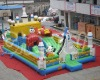 Rocket inflatable funcity amusement(inflatable amusement parks,inflatables funcity)