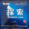 Sanwei RINGS LINK Pips-In Table Tennis Rubber with Sponge