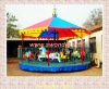 Simple carousel kiddie rides for fun