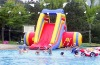 The Hot Inflatable Water Slide