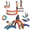 amusement equipment (outdoor playground set,playground)