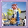 amusement rides on trailer, mini ferris wheel with trailer for travelling park