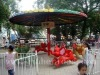attractive small flying elephant outdoor playground