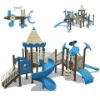 children outdoor slides