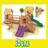 children wooden slides