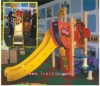 chilren wooden indoor playground