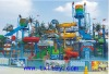 colorful water park