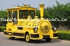 entertainment diesel trackless train for playground