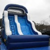 hot selling blue and white inflatable water slide