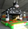 inflatable bouncer, bouncy castle, moonwalk bouncer.