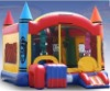 inflatable castle with slide