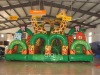 inflatable giraffe slide toys outdoor and indoor