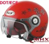 jet helmet ece open face helmet motorcycle helmet with E13 homologationed and DOT approval
