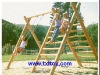kids wood playground TXL-044B