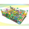 large indoor playgrounds equipment of LE-BY019