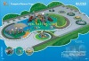 large plastic  outdoor playground TX-044A