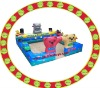 new style inflatable playground