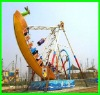 outdoor amusement pirate ship ride